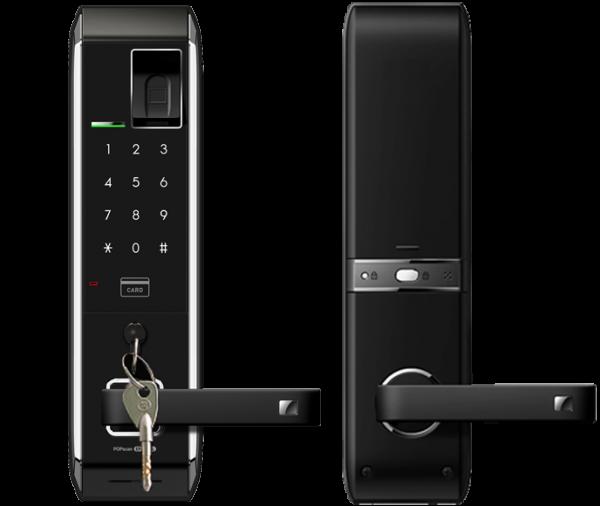 Keyless smart door lock